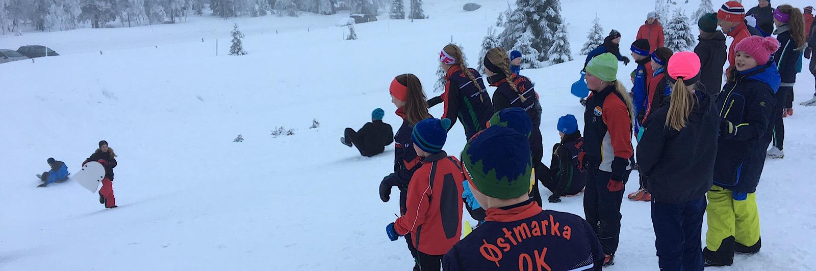 Familiesamling Budor Østmarka orienteringsklubb